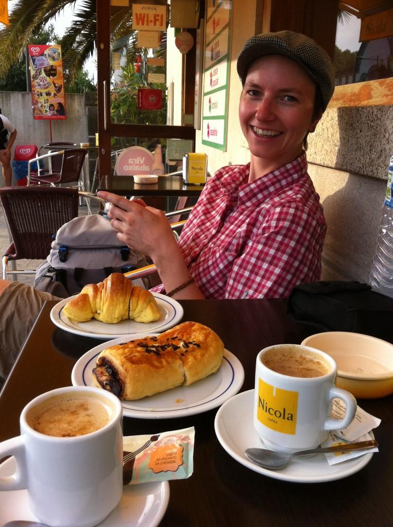 Das letzte Frühstück in Portugal