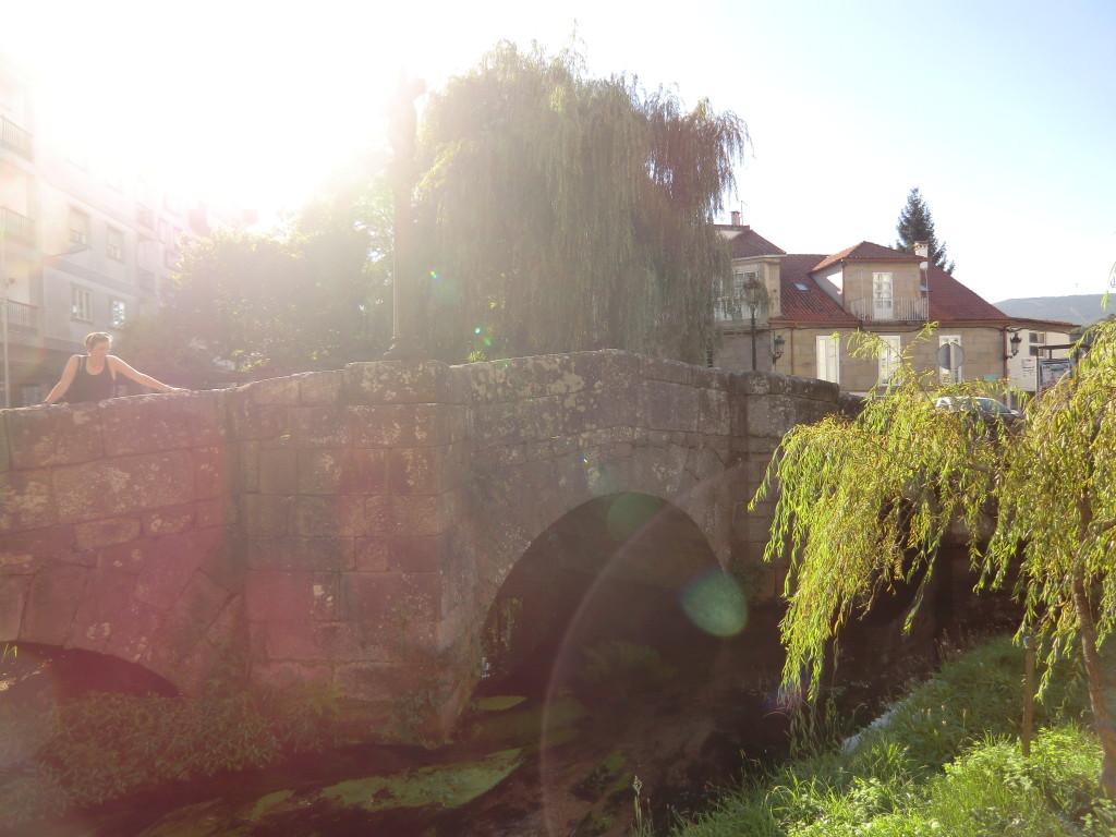 Brücke in Caldas des Reis