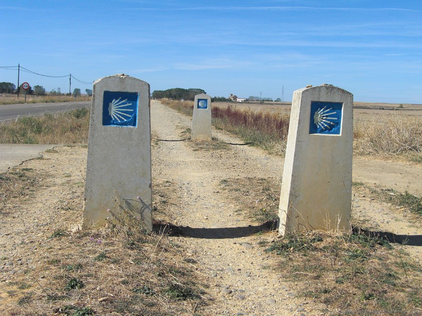 Jakobsweg in Spanien